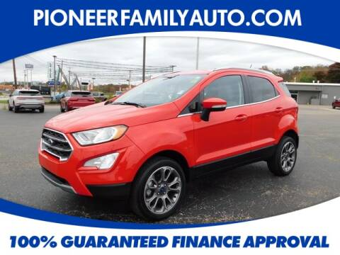 2019 Ford EcoSport for sale at Pioneer Family Preowned Autos in Williamstown WV