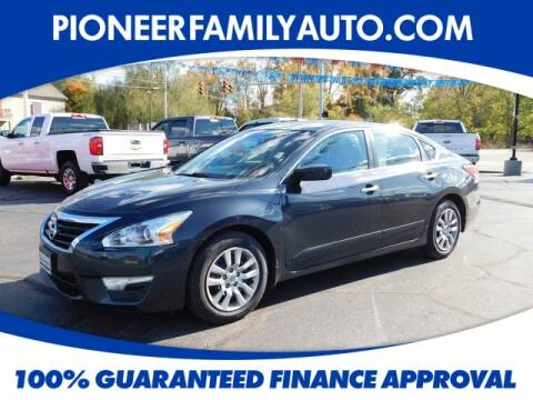 2014 Nissan Altima for sale at Pioneer Family Preowned Autos in Williamstown WV