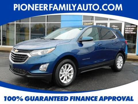 2019 Chevrolet Equinox for sale at Pioneer Family Preowned Autos in Williamstown WV