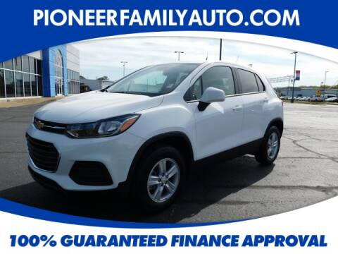 2021 Chevrolet Trax for sale at Pioneer Family Preowned Autos in Williamstown WV