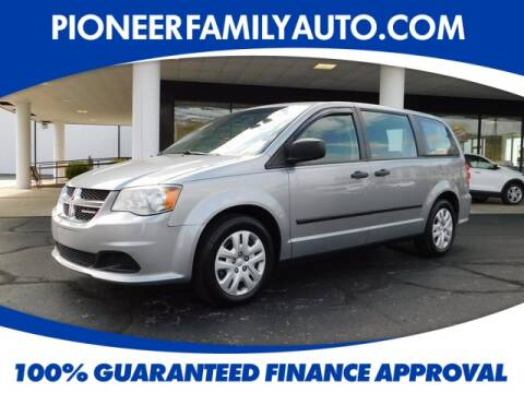 2015 Dodge Grand Caravan for sale at Pioneer Family Preowned Autos in Williamstown WV