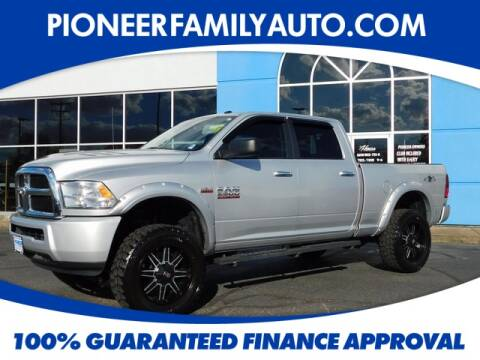 2016 RAM Ram Pickup 2500 for sale at Pioneer Family Preowned Autos in Williamstown WV
