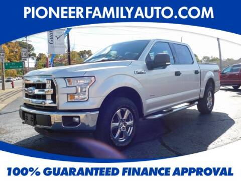 2015 Ford F-150 for sale at Pioneer Family Preowned Autos in Williamstown WV