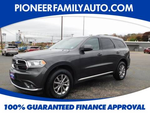2018 Dodge Durango for sale at Pioneer Family Preowned Autos in Williamstown WV