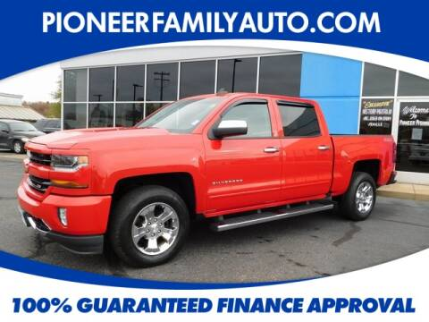 2016 Chevrolet Silverado 1500 for sale at Pioneer Family Preowned Autos in Williamstown WV