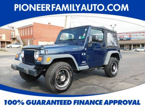 2006 Jeep Wrangler for sale at Pioneer Family Preowned Autos in Williamstown WV
