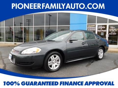 2015 Chevrolet Impala Limited for sale at Pioneer Family Preowned Autos in Williamstown WV