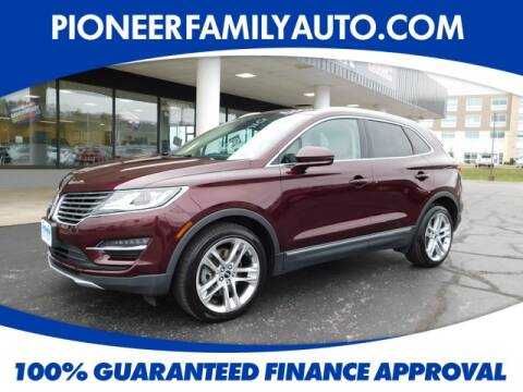 2017 Lincoln MKC for sale at Pioneer Family Preowned Autos in Williamstown WV