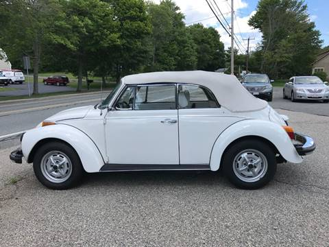 1979 Volkswagen Beetle Convertible for sale at Gaybrook Garage in Essex MA