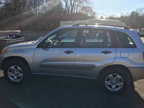 2003 Toyota RAV4 for sale at Gaybrook Garage in Essex MA