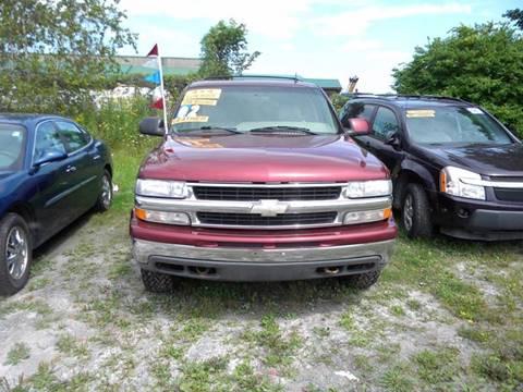 2002 Chevrolet Tahoe for sale at Discount Auto Sales in Monticello NY