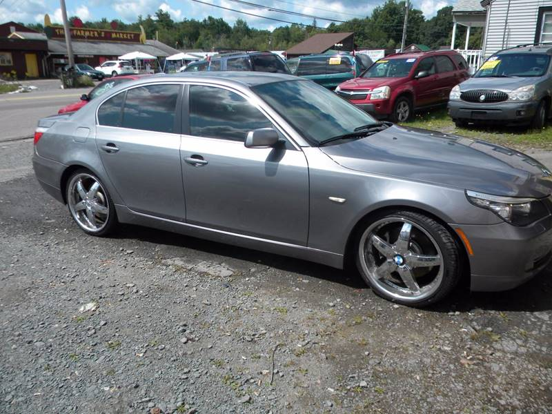2008 BMW 5 Series for sale at Discount Auto Sales in Monticello NY