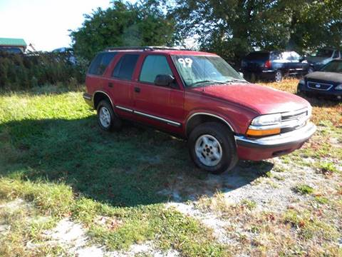 1999 Chevrolet Blazer for sale at Discount Auto Sales in Monticello NY