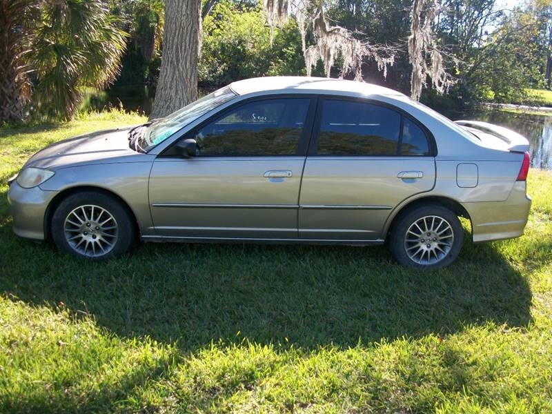 2005 Honda Civic for sale at Bargain Auto Mart Inc. in Kenneth City FL