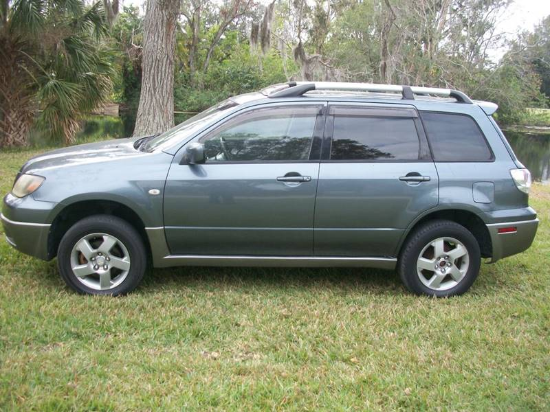 2004 Mitsubishi Outlander for sale at Bargain Auto Mart Inc. in Kenneth City FL