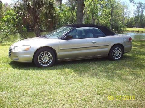 2004 Chrysler Sebring for sale at Bargain Auto Mart Inc. in Kenneth City FL
