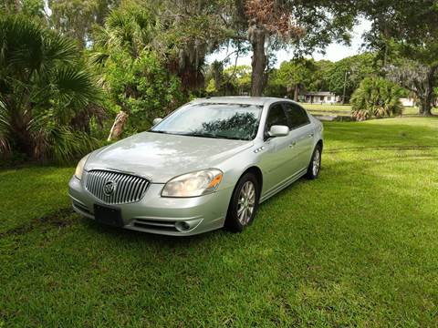 2010 Buick Lucerne for sale at Bargain Auto Mart Inc. in Kenneth City FL