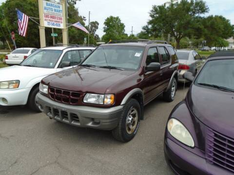 2002 Isuzu Rodeo for sale at Bargain Auto Mart Inc. in Kenneth City FL