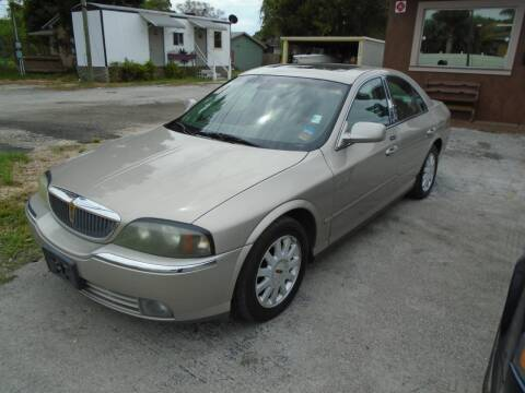 2003 Lincoln LS for sale at Bargain Auto Mart Inc. in Kenneth City FL