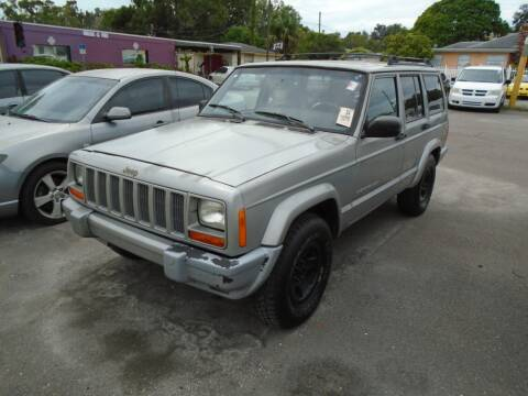 2000 Jeep Cherokee for sale at Bargain Auto Mart Inc. in Kenneth City FL