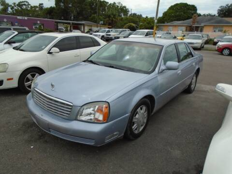 2004 Cadillac DeVille for sale at Bargain Auto Mart Inc. in Kenneth City FL
