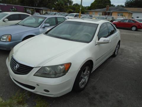 2006 Acura RL for sale at Bargain Auto Mart Inc. in Kenneth City FL