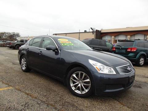 2008 Infiniti G35 For Sale At Car Depot Auto Sales In Waukegan IL