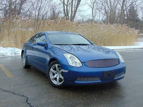 2007 Infiniti G35 For Sale At Car Depot Auto Sales In Waukegan IL