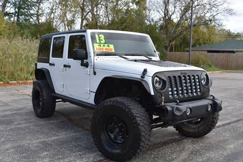 2013 Jeep Wrangler Unlimited for sale in Waukegan, IL