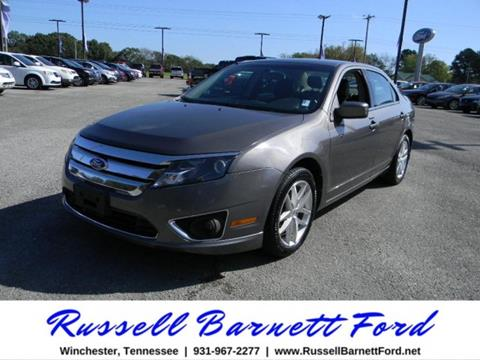 2012 Ford Fusion for sale in Winchester, TN