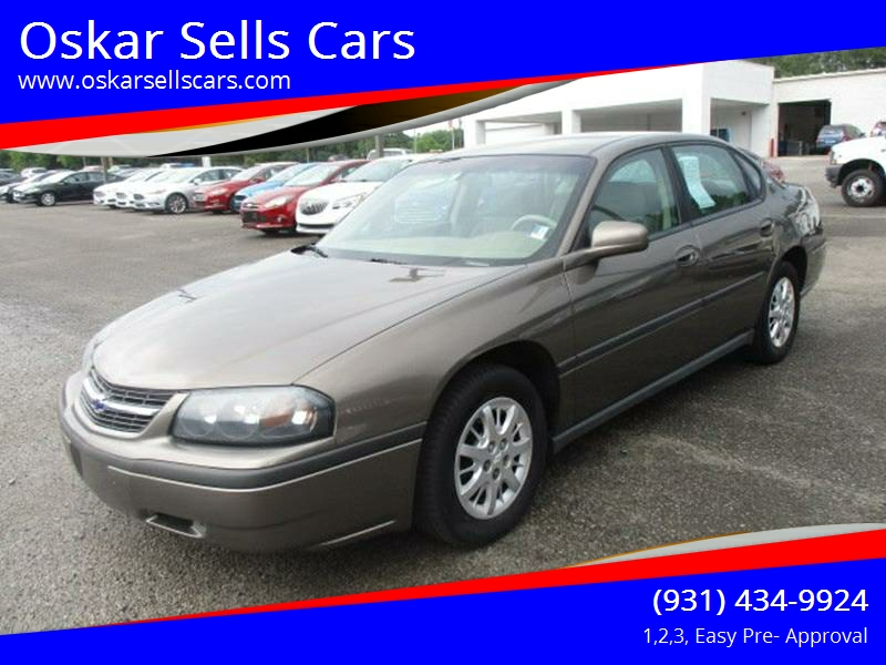 2003 Chevrolet Impala for sale at Oskar  Sells Cars in Winchester TN
