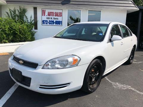 2010 Chevrolet Impala for sale in Mesquite, TX