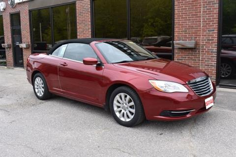 2012 Chrysler 200 Convertible for sale in Newcastle, ME