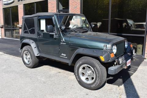 2004 Jeep Wrangler for sale in Newcastle, ME
