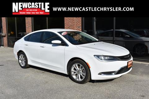 2016 Chrysler 200 for sale in Newcastle, ME
