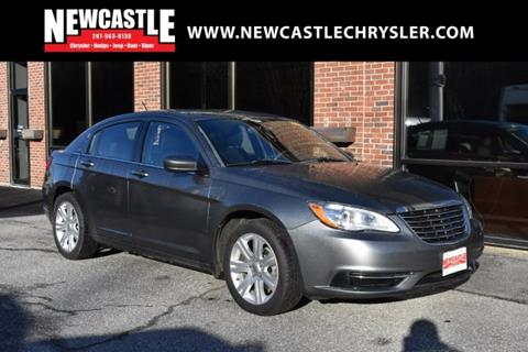 2013 Chrysler 200 for sale in Newcastle, ME