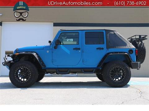 2016 Jeep Wrangler Unlimited for sale in West Chester, PA