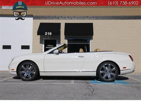 2007 Bentley Continental GTC for sale in West Chester, PA