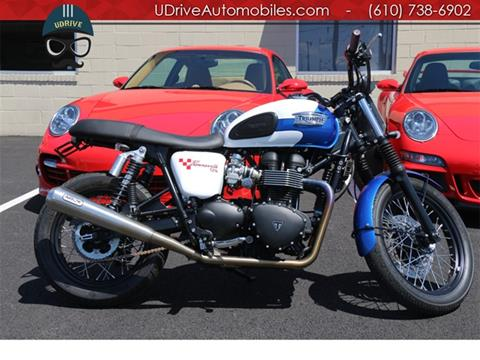 Used Triumph Bonneville For Sale In Daytona Beach Fl Carsforsalecom