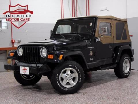 2000 Jeep Wrangler for sale in Bridgeview, IL