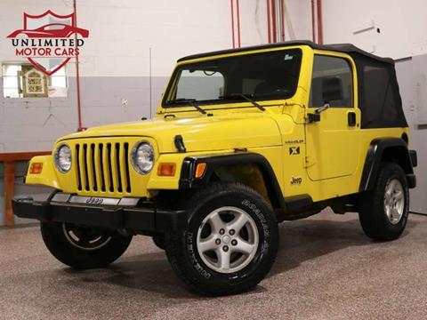 2002 Jeep Wrangler for sale in Bridgeview, IL