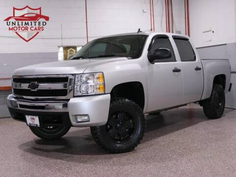 2011 Chevrolet Silverado 1500 LT for sale at Unlimited Motor Cars in Bridgeview IL