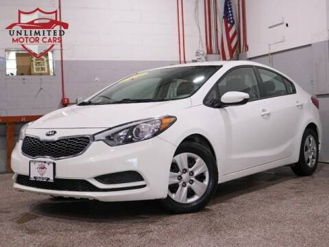2016 Kia Forte LX for sale at Unlimited Motor Cars in Bridgeview IL