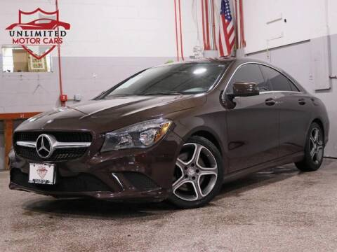 2014 Mercedes-Benz CLA CLA 250 4MATIC for sale at Unlimited Motor Cars in Bridgeview IL