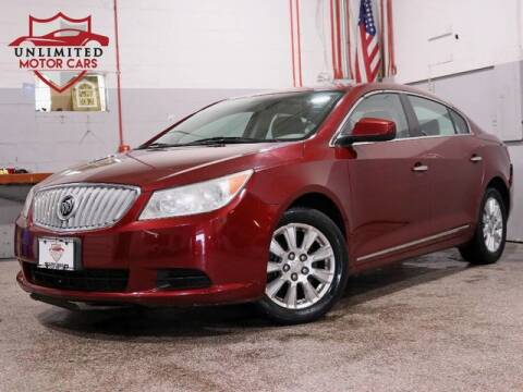 2010 Buick LaCrosse CX for sale at Unlimited Motor Cars in Bridgeview IL