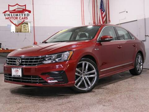 2017 Volkswagen Passat 1.8T R-Line for sale at Unlimited Motor Cars in Bridgeview IL