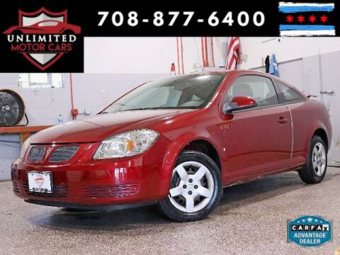 2009 Pontiac G5 for sale at Unlimited Motor Cars in Bridgeview IL