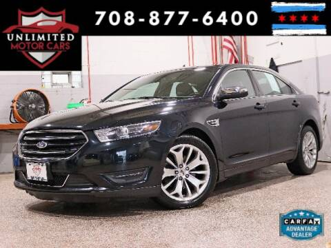 2015 Ford Taurus for sale at Unlimited Motor Cars in Bridgeview IL