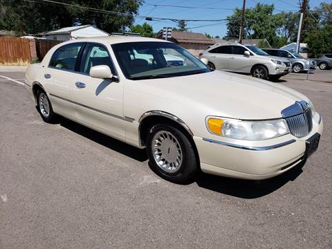 2001 Lincoln Town Car For Sale Carsforsale Com