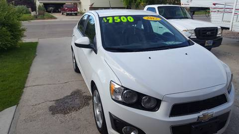2012 Chevrolet Sonic for sale in Worland, WY